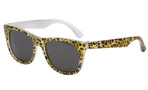 Leopard Print Minnie Gadget Wayfarer by Frankie Ray
