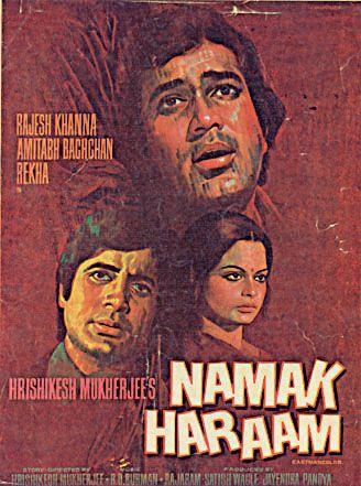Image result for rajesh khanna namak haram movie poster