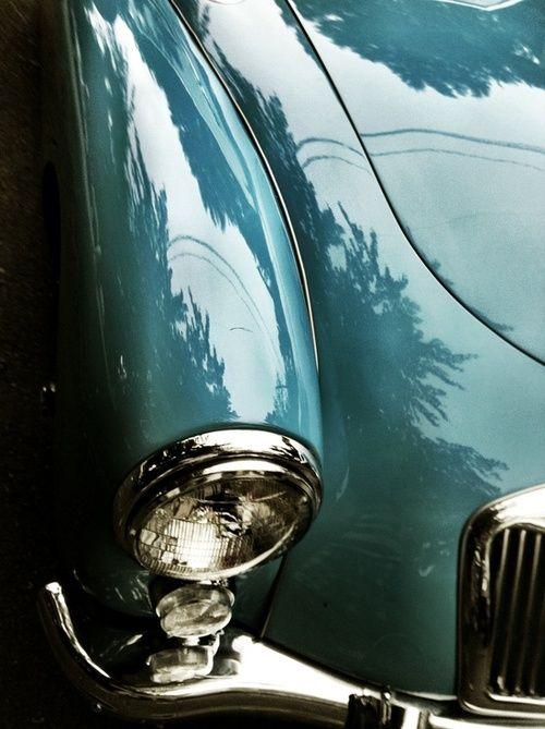 fortheloveofturquoise: thefullerview: (via a q u a - i s h / 1956 MG MGA Roadster) (via TumbleOn)