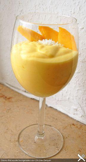 Photo of Fruity and delicious mango cream from Samsara