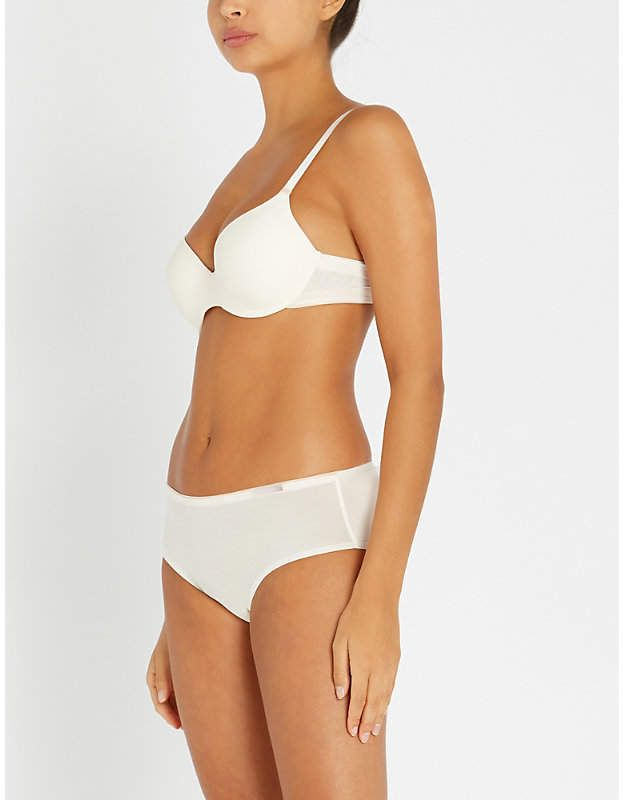 229d9d45220c Absolute Invisible stretch-jersey bra in 2019 | Products | Bra ...