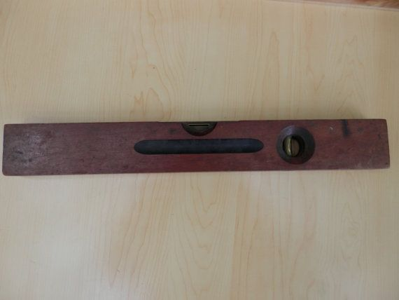 Stanley Antique Wood Level Vintage Level Stanley By Toolestate