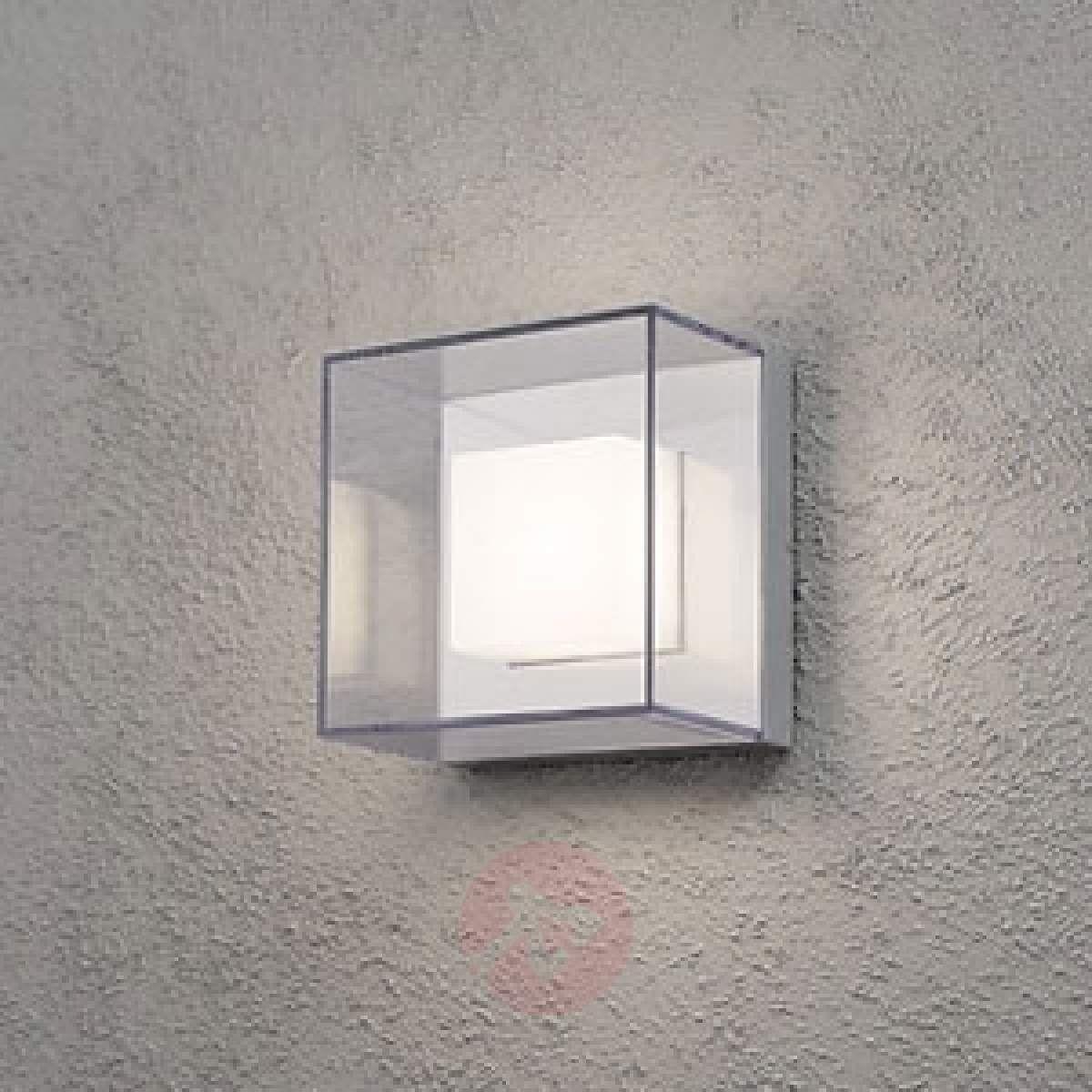 Kwadratowa Zewnętrzna Lampa ścienna Led Sanremo Lampy