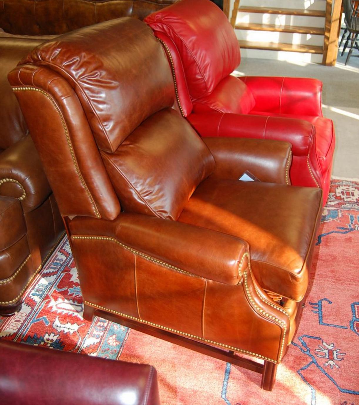 Best Sadler Yardley Cognac Chair Chesterfield Chair Accent 400 x 300