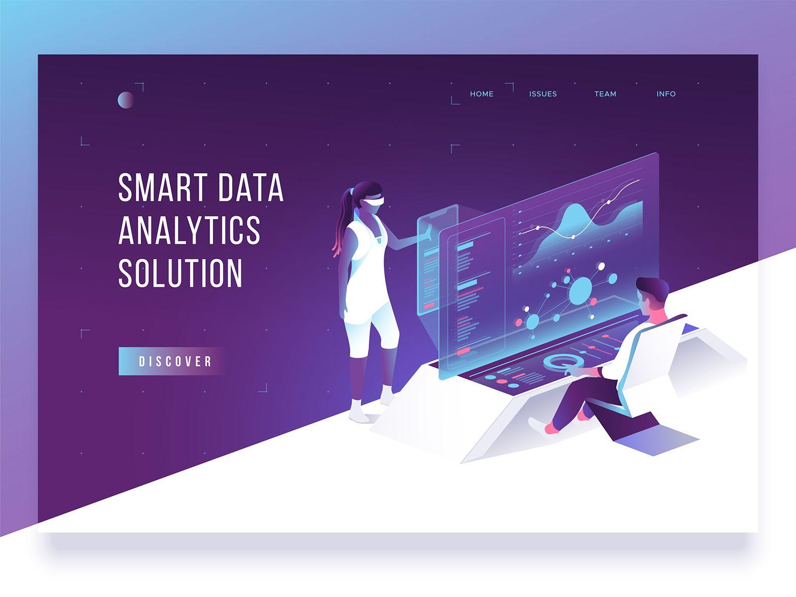 Header Concept Isometric Design Concept Website Design Inspiration