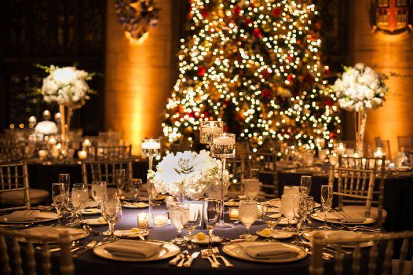 Christmas Wedding Reception Photography By Http Jenniferkathryn
