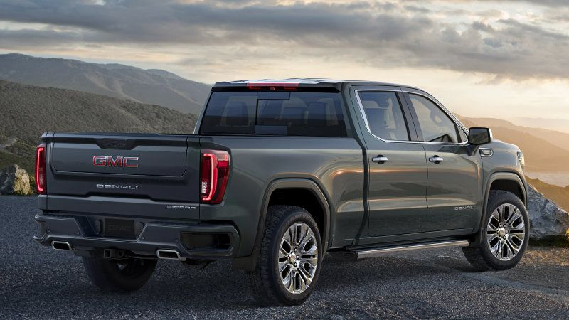 New Gmc Sierra Gets A Trick Tailgate And A Carbon Fiber Bed Box