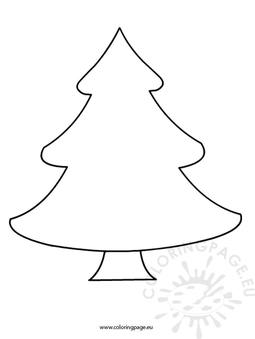 Christmas Tree Coloring Page Free Free Christmas Tree Template Coloring Page Birijus Com Tree Coloring Page Christmas Tree Coloring Page Christmas Tree Template