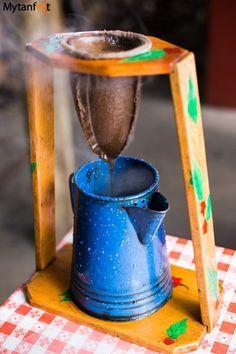 Best souvenirs from Costa Rica - chorreador de cafe
