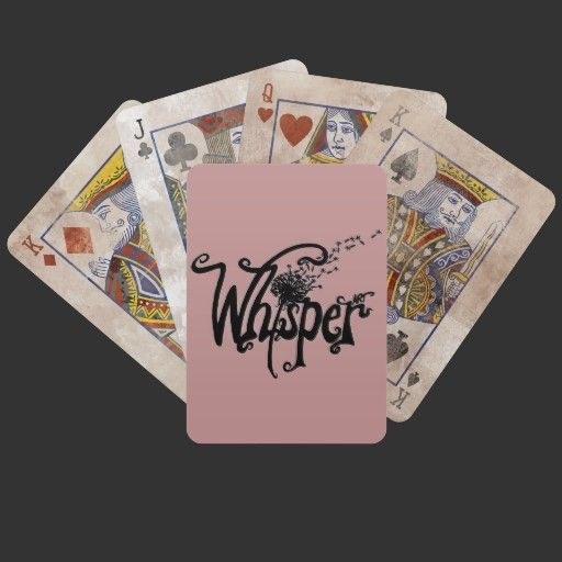 Whisper Art Playing Cards from WhisperArt