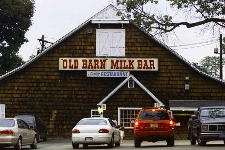 The old milk barn in Pompton Lakes NJ was the only place to go for ice