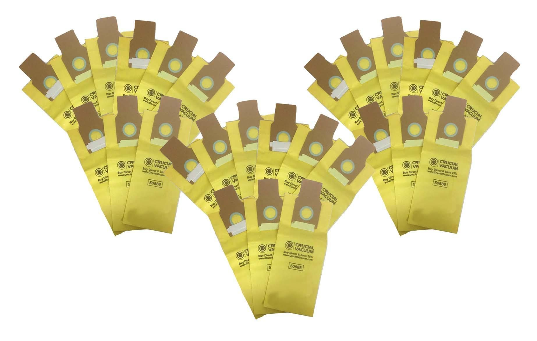 27pk Replacement Paper Bags Fits Kenmore 50688 50690