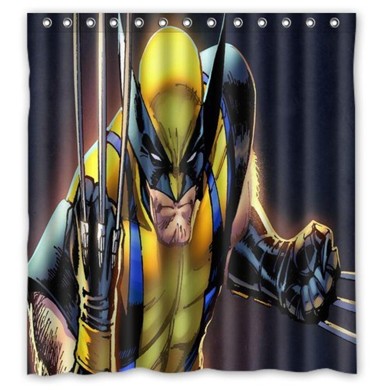 ScottShop Custom Best Wolverine Shower Curtain Decoration ...