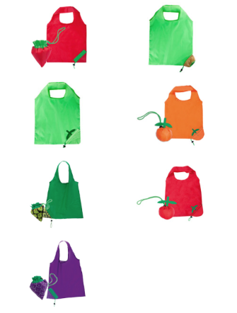 FRUITY-007 FOLDABLE FRUIT BAGS