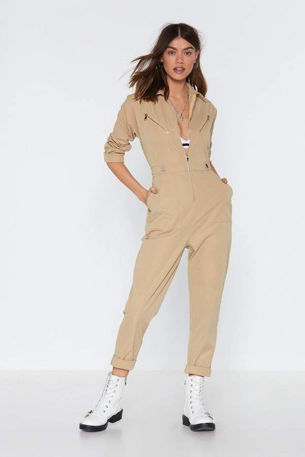Ready to Work It Zip Boilersuit | Shop Clothes at Nasty Gal