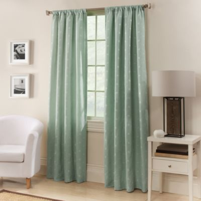 Window Curtain Panels In 2 Colors Spa Blue And Almost White Drapes Draperies Custom Curtains Window Drapes Window Treatments Draperies In 2020 Color Block Curtains Panel Curtains Curtains