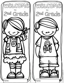 Free Welcome To Any Grade Through 6th Grade Coloring Sheets Perfect For The First Day Of First Day Of School Activities Welcome To School School Activities