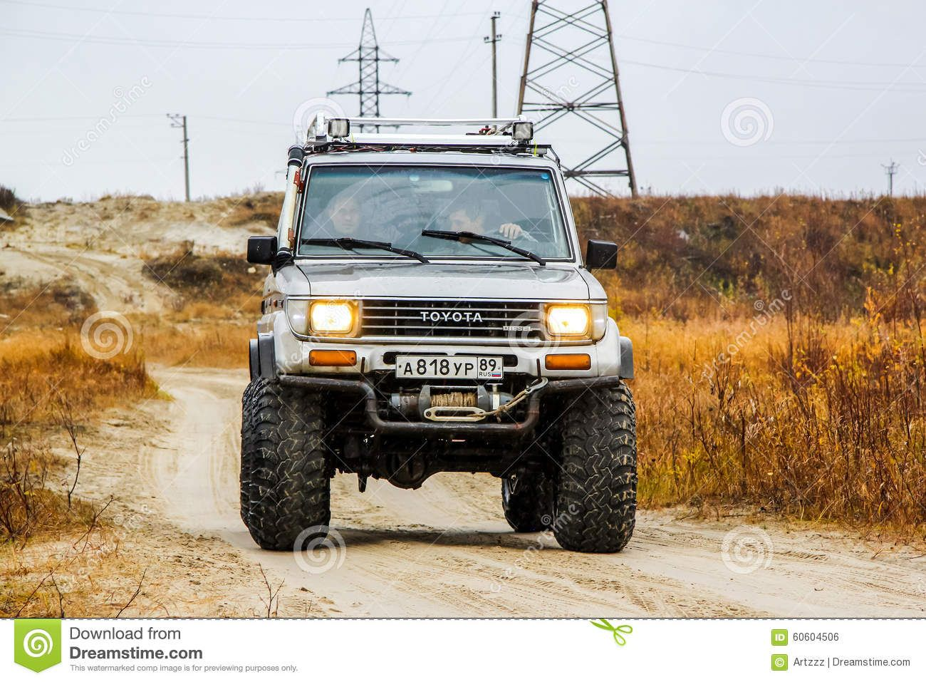 Toyota land cruiser off road extreme