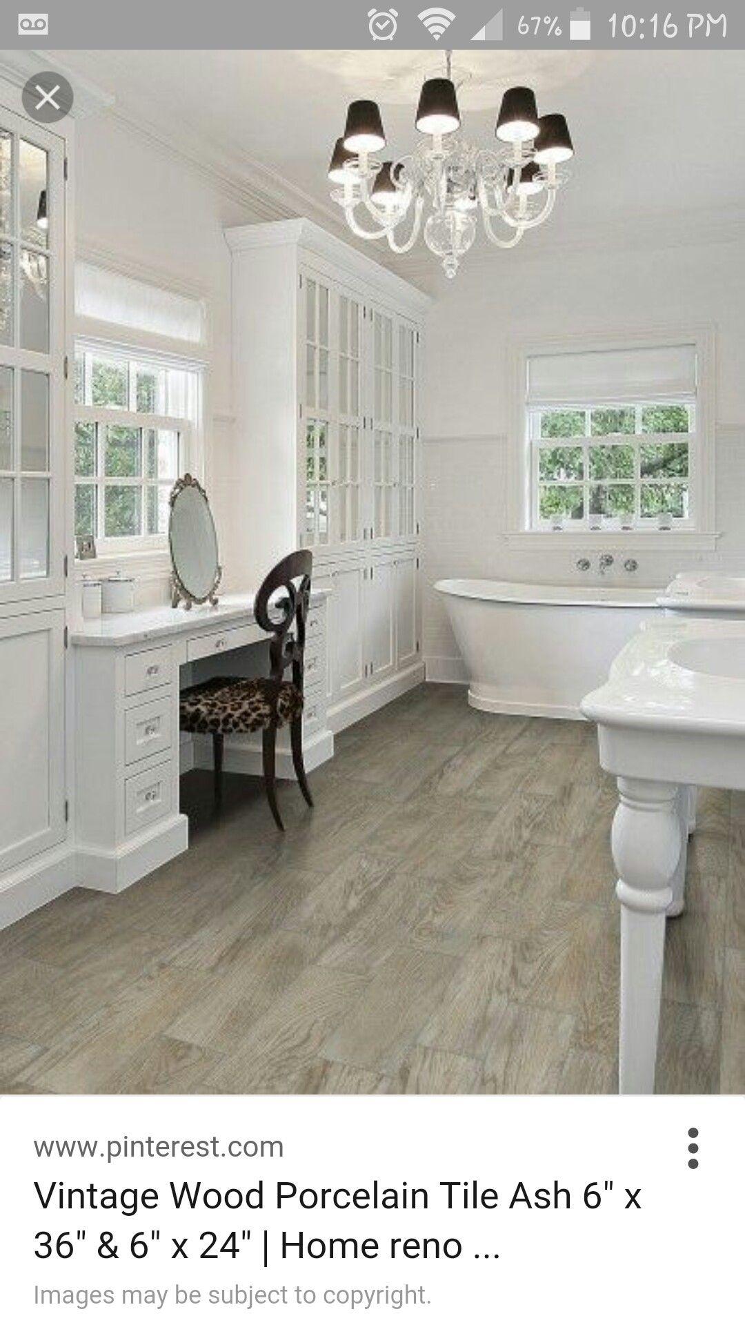 Ash wood ceramic tile floors Soon to be Future Pinterest