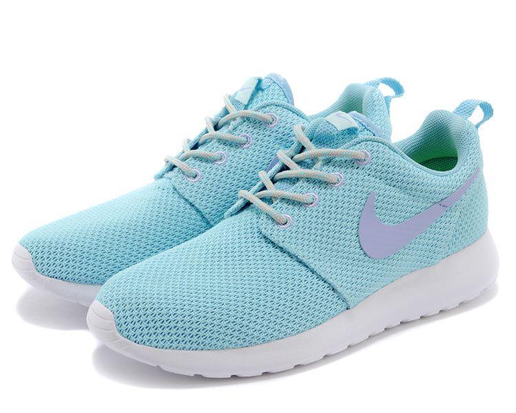 nouveau concept 17566 90818 Nike Roshe Run Femme Chaussure bleu pourpre prix spécial ...
