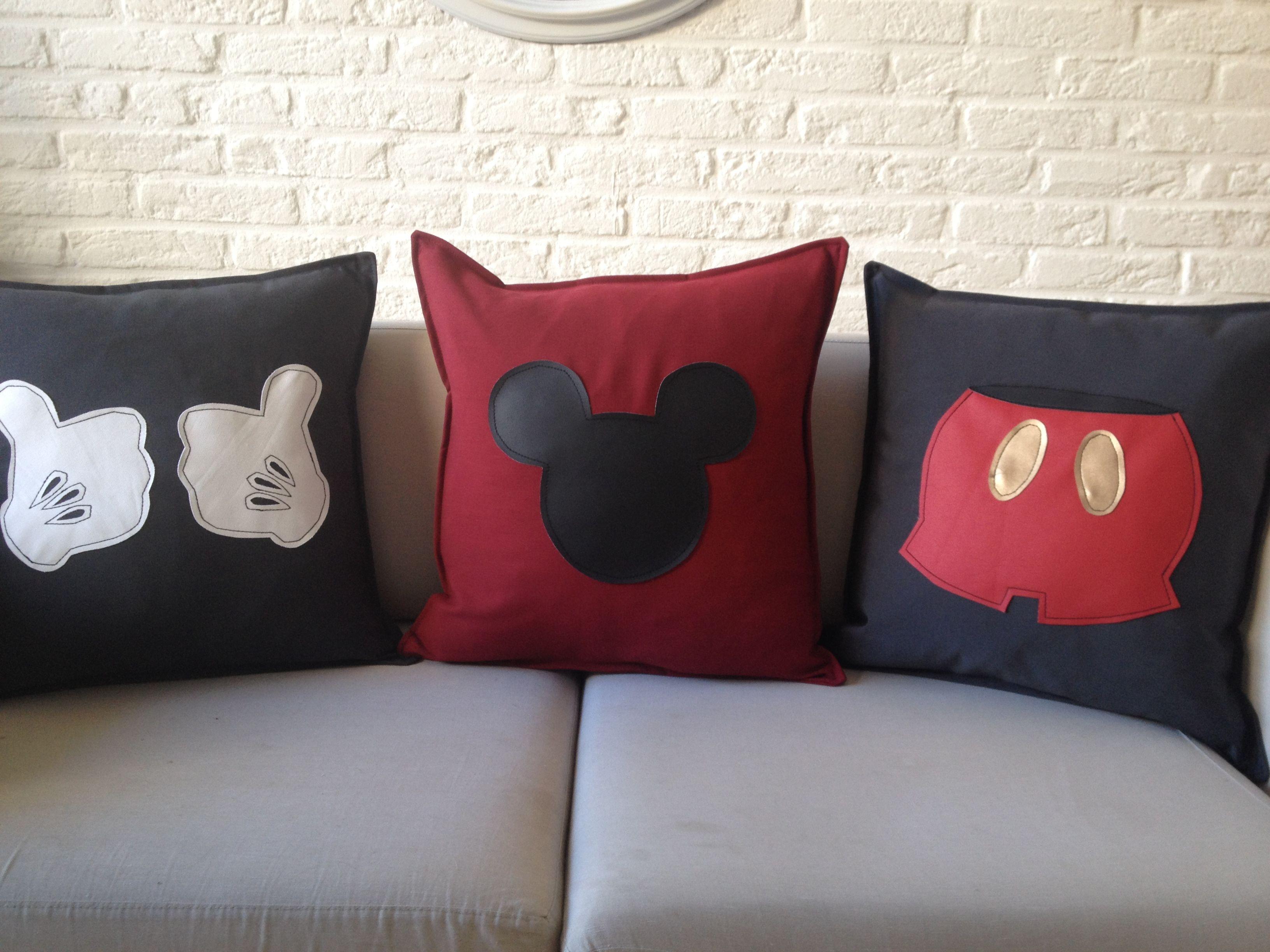 Vulling Voor Kussens : Mickey mouse kussens in de maat incl vulling
