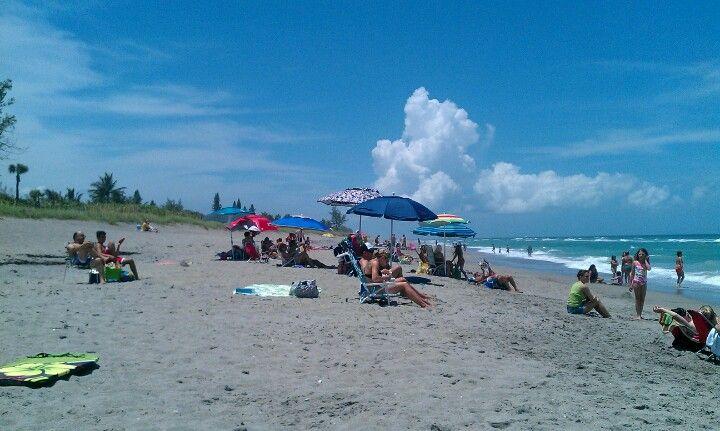 Hobe Sound Beach In Fl