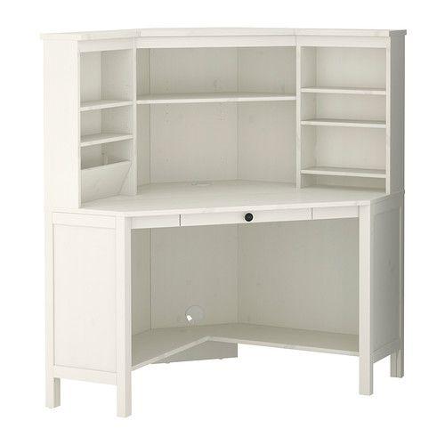 Us Furniture And Home Furnishings Corner Workstation White