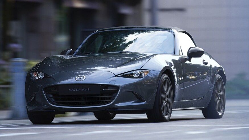 2020 Mazda Miata First Look More Stuff Packed Into The Same Excellent Small Sports Car In 2020 Mazda Mx5 Mazda Mx5 Miata Mazda Miata