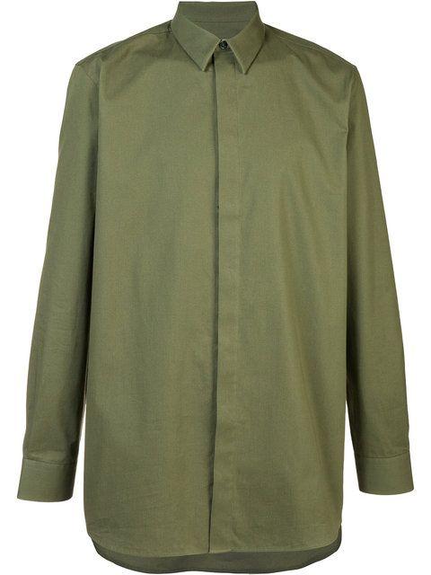 GIVENCHY long-length shirt. #givenchy #cloth #长款衬衫
