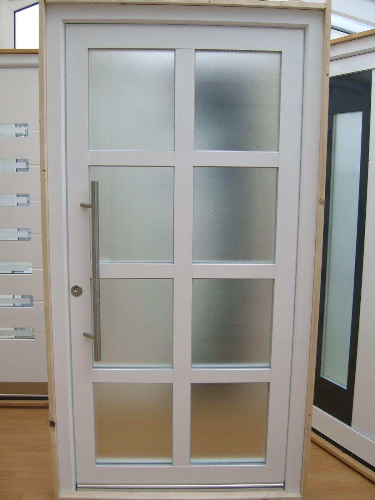 Hausture Aluminium Glas 3 Fach Veglasung Sprossen Schuco Profile Neu Ebay Haus Haustur Sprossenfenster