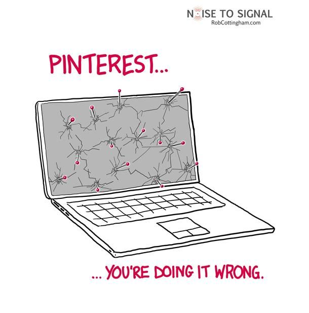 Pinterest pour les nuls....{Humour}