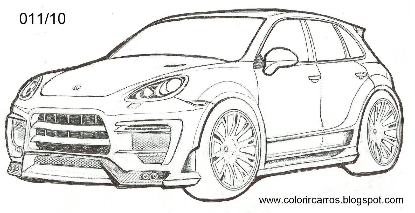 Carros Esportivos Para Colorir Desenhos De Carros Carros Desenhos