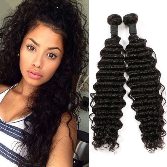 Brazilian Curly Sew In Straight Weave Hairstyles 2018