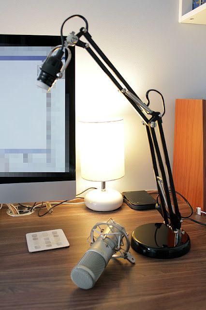 Jared May Need This Adjustable Desktop Ikea Hackers Ikea Forsa Lamp