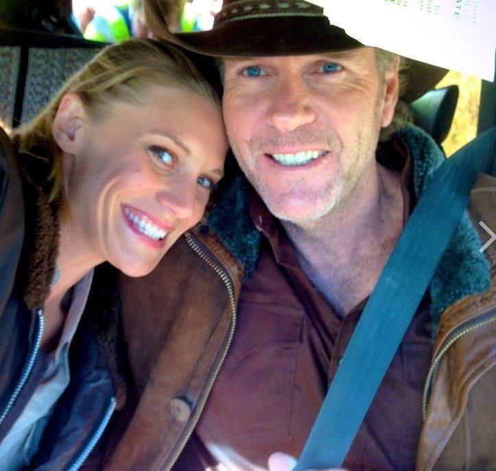 Katee Sackhoff and Robert Taylor  #Longmire