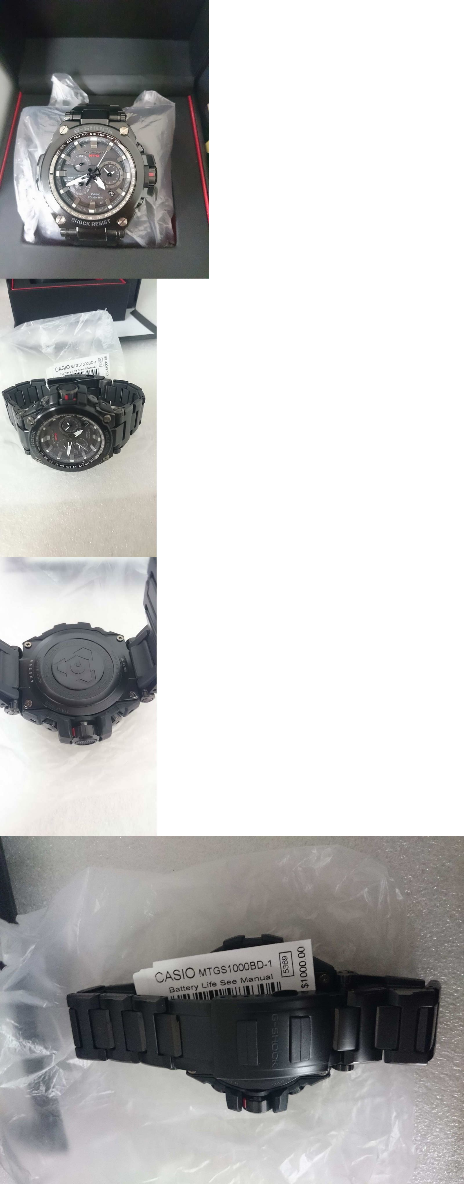 Other Watches 166739: Casio Gshock Men S Mtg Black Watch Mtgs1000bd-1A -> BUY IT NOW ONLY: $555 on eBay!