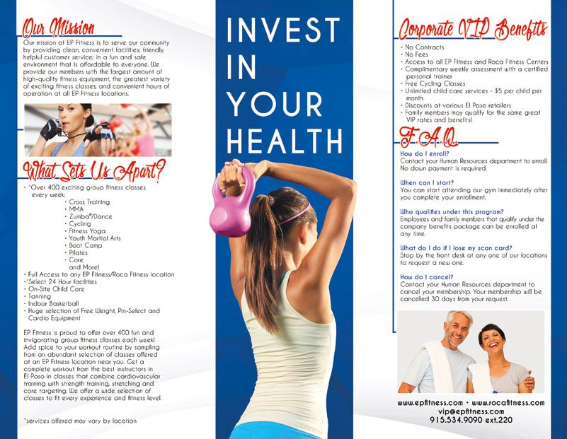 Image Result For Corporate Fitness Programs Flyer  Health
