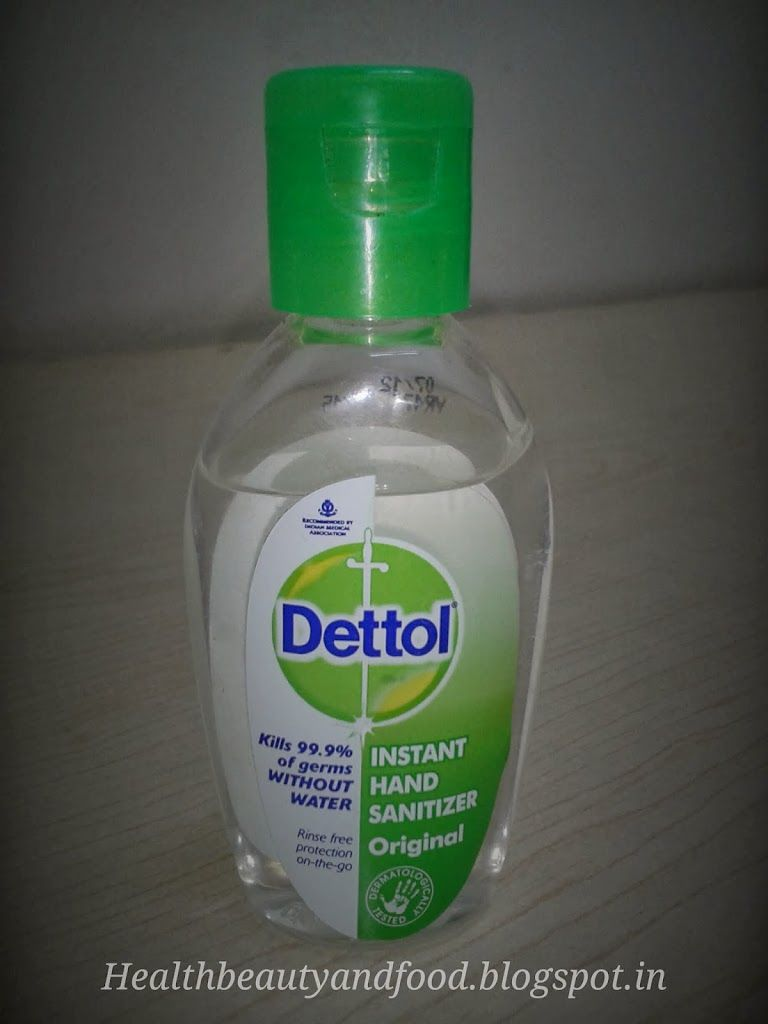 Dettol Instant Hand Sanitizer Original Review Hand Sanitizer