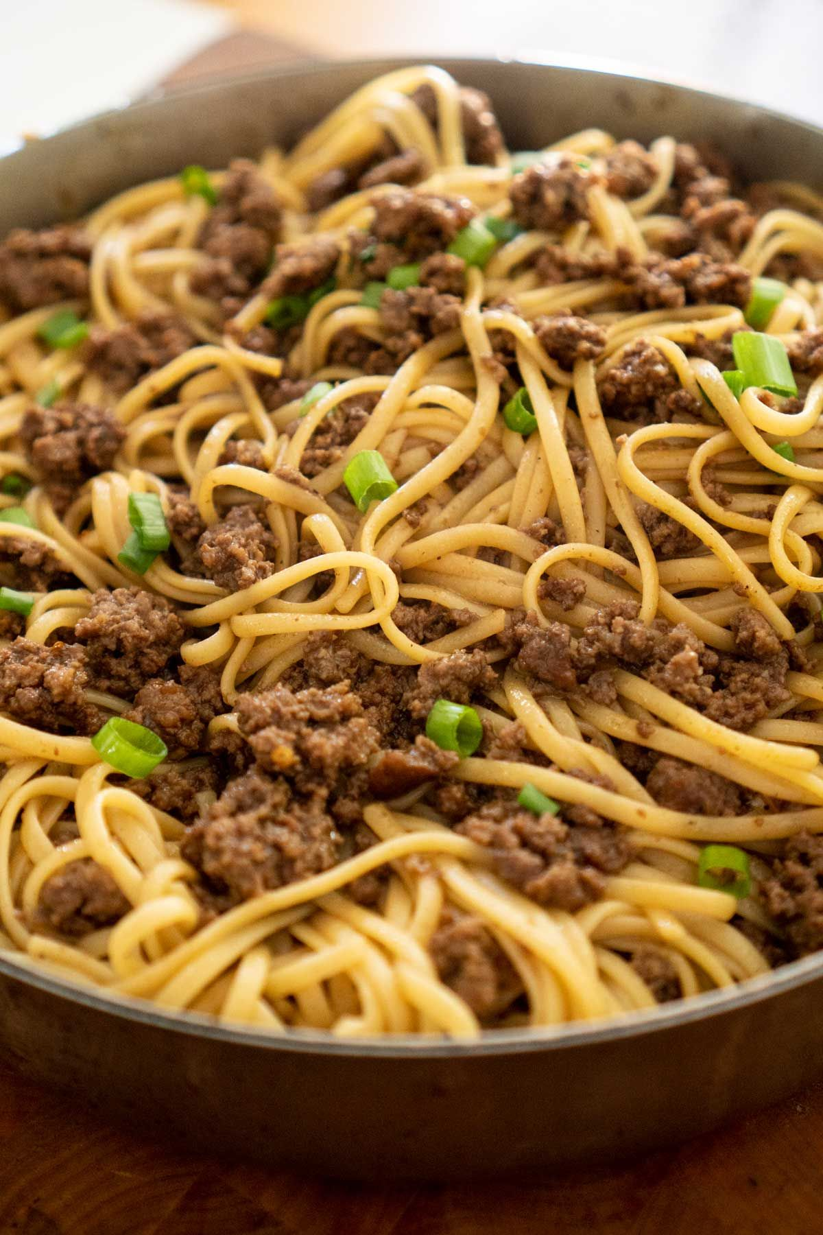no need for takeout this mongolian noodles recipe is made