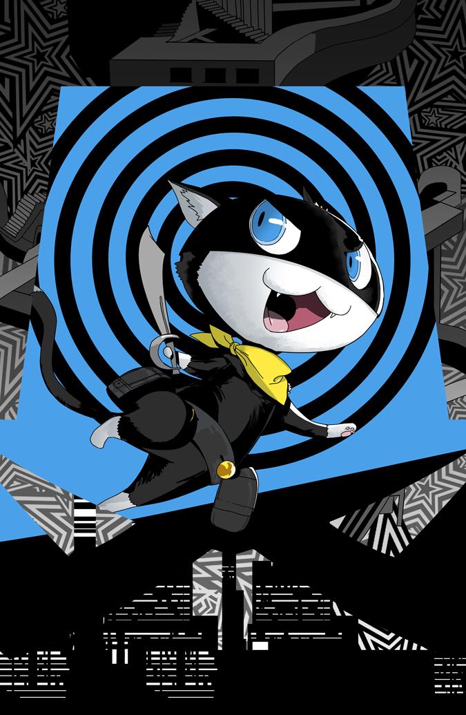 Morgana By Ssandulak Persona 5 Joker Persona 5 Persona