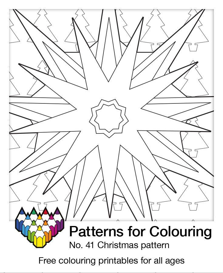 Time for some Christmas colouring. Click through for the free printable...