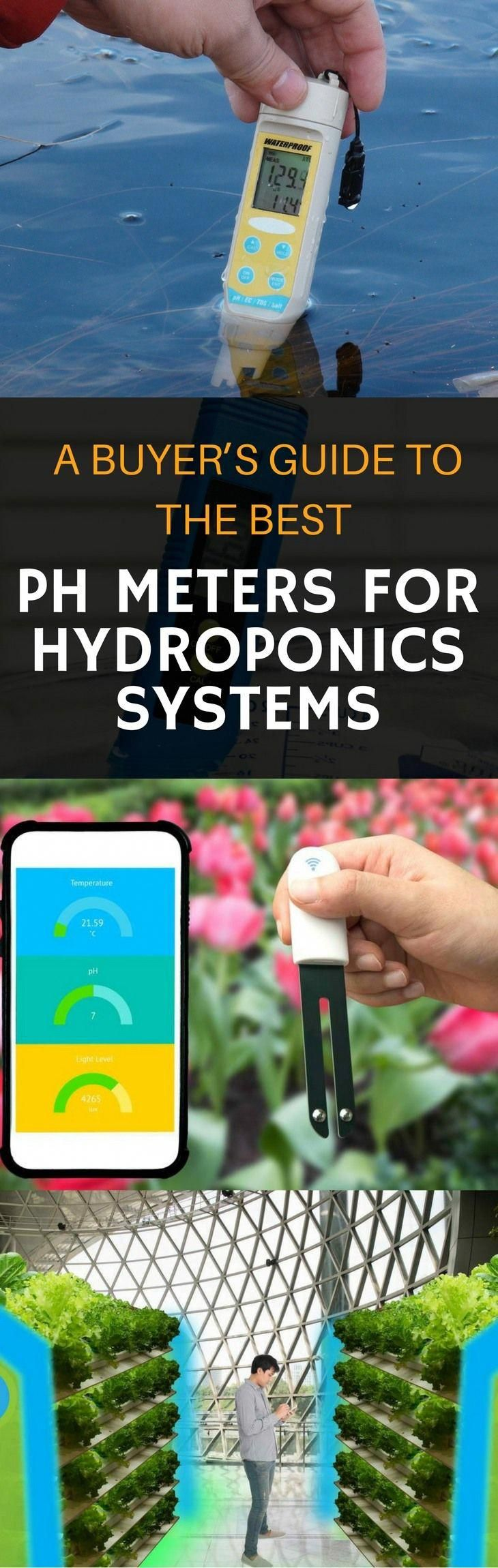 Best pH Meters For Hydroponics Systems 2018 Reviews