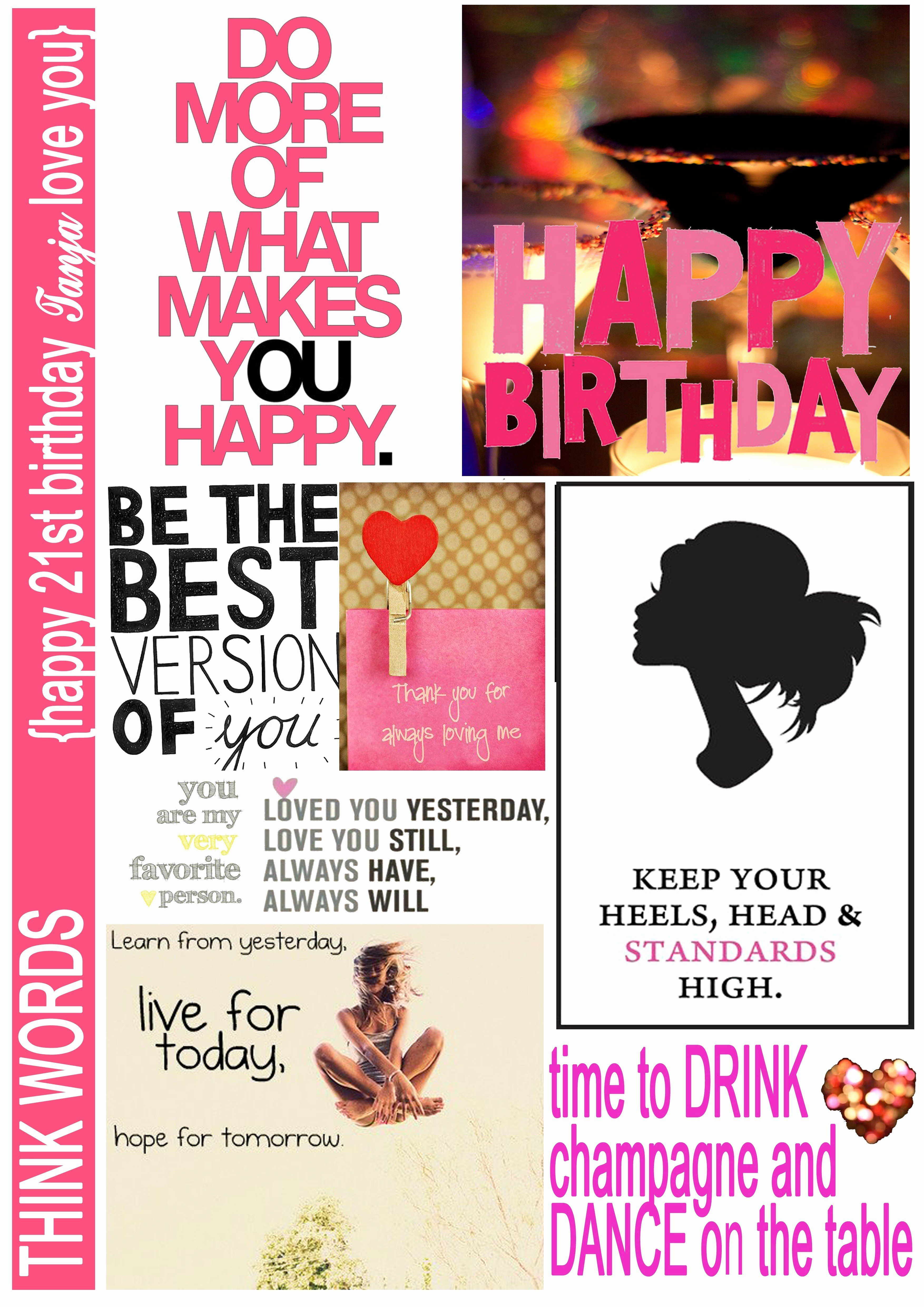 Cute thank you images awesome 21 birthday quotes t ideas