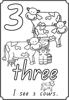 numbers on the farm colouring pages 1 10 farming and math farm silo coloring page farm animal coloring pages to match