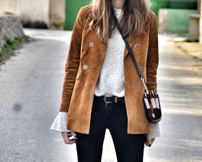 Look chaqueta de ante