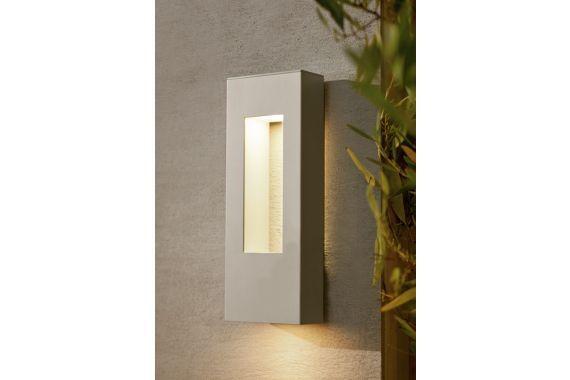 hinkley atlantis titanium modern 16 inch h outdoor light malibu
