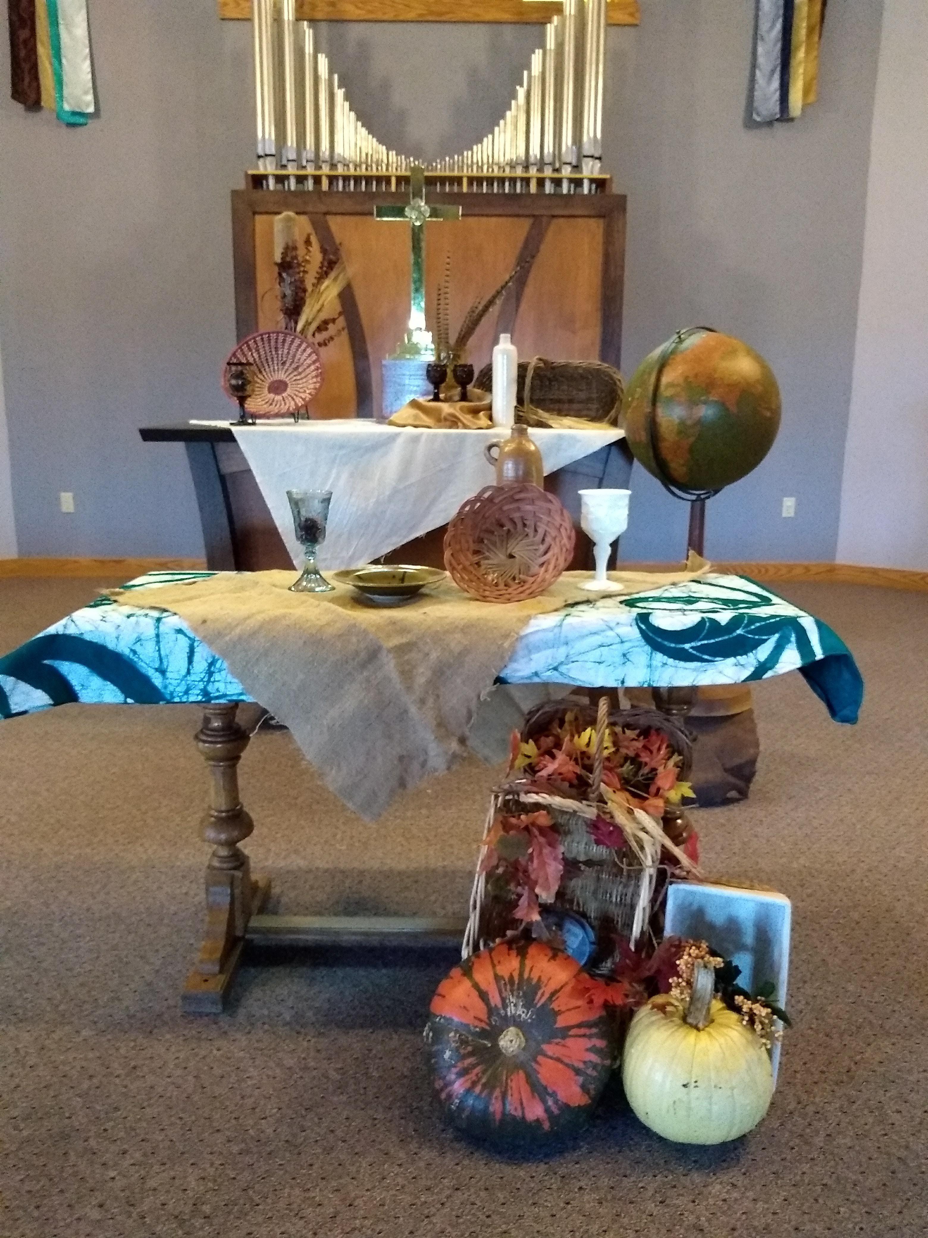 Mhumc 2018 World Communion Sunday Church Decor Worship Art