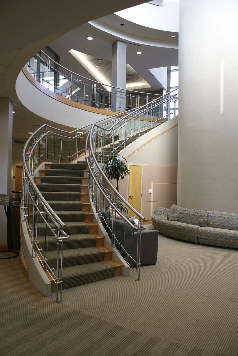 Best Interior Deep Indoor Stair With Iron Hand Rail Idea 400 x 300