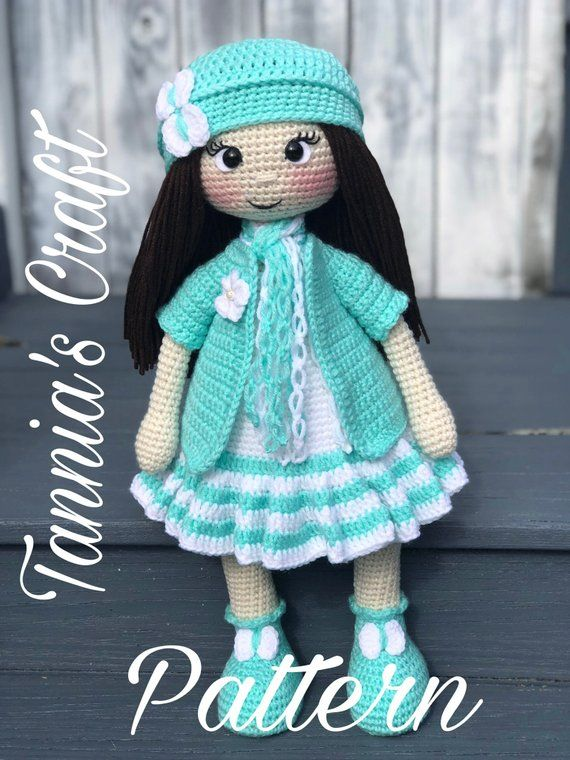 My Crochet Doll: A Fabulous Crochet Doll Pattern with Over 50 Cute ... | 760x570