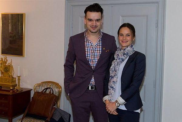 Princess Sofia received Admir Lukacevic at Royal Palace